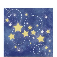 Tisu Tema To The Moon And Back - Perlengkapan Pesta Ulang Tahun