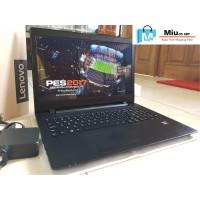 Laptop Gaming LENOVO Ideapad 110 AMD A9-9400 RAM 4GB HDD 1TB Dual VGA