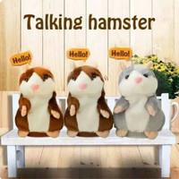 Boneka hamster talking boneka lucu bisa bicara
