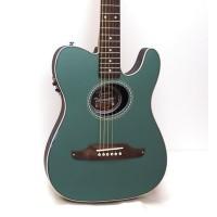 Fender Telecoustic Plus Acoustic-Electric Guitar Sherwood Green gm