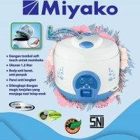 Magic COm / RIce COoker Miyako MCM-512 Kapasitas 1,2 Liter 300 Watt