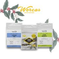 WORCAS Special Bundle Promo 3 Kopi Arabica Import 100gr Single Origin
