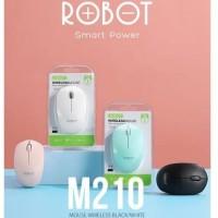 Robot Mouse Wireless M210 2.4G Original Garansi Resmi