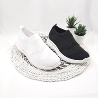 Otha Shoes By Laviola - Sneakers Wanita - H273 OLG BLACK-WHITE