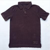 Kaos Polo Anak Laki-laki Gap Boy Shirt Brown (10-12 thn)