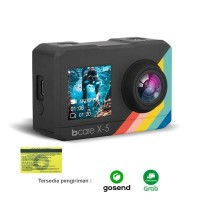 Bcare X-5 Action Camera 4K WiFi 16MP Touch DualScreen