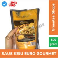 saus keju euro gourmet cheese sauce 500gram cimory