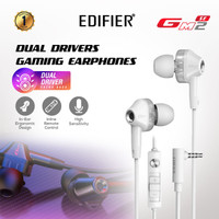 EDIFIER Earphone HD Dual Driver GM2 SE Black - Putih