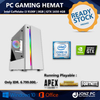 PC Gaming   i3 9100F   8GB   GTX 1650 4GB   READY STOCK