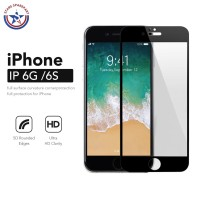 Tempered Glass 5D iPhone 6 6G 6S Fullcover premium Glass Full Screen