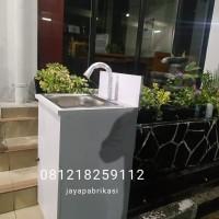 Wastafel Portable Cuci Tangan Kran Sensor Otomatis