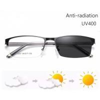 COD Kacamata Anti Radiasi Photocromic Blue Rays UV 400 Pria