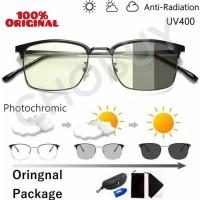 COD Kacamata Anti Blue Ray Radiasi UV 400 pria Wanita 6005