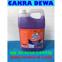 Mr Muscle Axi Triguna aroma Lavender Pembersih Lantai Galon 4 Liter