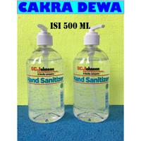SC Johnson Hand Sanitizer anti Bakteri dan Virus Bersertifikasi MUI