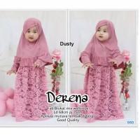 Baju Muslim Anak Size 3-4 Tahun Gamis Derena Anak