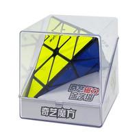 Rubik Pyraminx - Qiyi MS Magnetic Pyraminx - Black Base