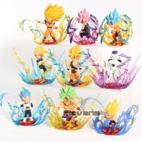 Action Figure Dragon Ball With Aura Effect