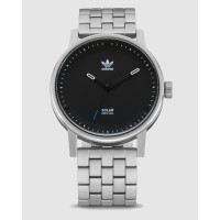 Jam Tangan Analog Pria Adidas District SM1 Silver / Black - Z2462500