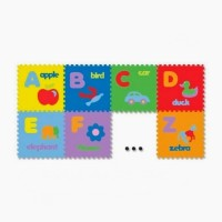 Mainan Anak - Matras / Alas Lantai / Puzzle Evamats Abjad Gambar