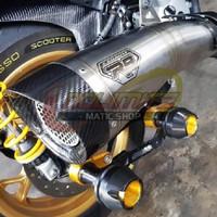 Knalpot Racing R9 H2 SS ORI Full System Free DB Killer Yamaha XMAX