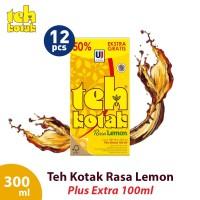 Teh Kotak 300 mL Rasa Lemon (isi 12 Pcs)