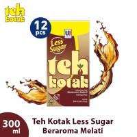 Teh Kotak Jasmine Less Sugar 300 mL (isi 12 Pcs)