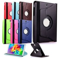 360 Rotate Leather Flip Stand Cover Case Samsung Galaxy Tab S 8.4
