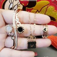 titanium set perhiasan dewasa G119