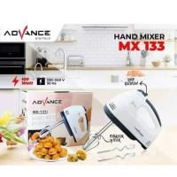 Advance MX 133 Hand Mixer Pengaduk Adonan Kue Roti (7 Speed) Murah