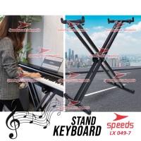 Alat Musik Stand Keyboard Double Untuk Semua Piano Dewasa 049-7