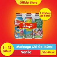 Chil Go Vanilla 6x140 mL (6 banded)