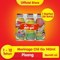 Chil Go Pisang 6x140ml (6 banded)