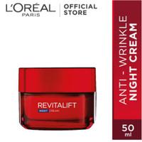 L'Oreal Loreal Paris Revitalift Dermalift Night Cream Anti Aging 50ml