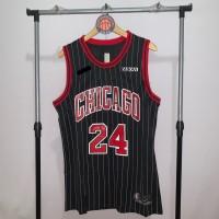 Jersey Basket Swingman NBA Chicago Bulls Lauri Markkanen black city