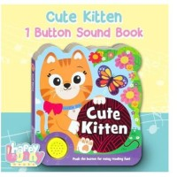 (HB) Cute Kitten Sound Boardbook (Push The Button For Noisy Reading Fu