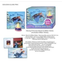 (HB) Disney Princess Book & Glitter Globe (Includes Glitter Globe)