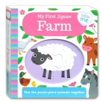 (HB) Little Me - My First Jigsaw Farm Board Book