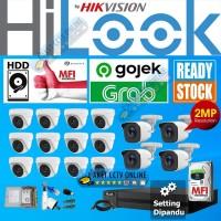 Paket CCTV Hilook 16 Kamera 16CH 16 Channel Instalasi dipandu