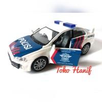 Diecast Miniatur Replika Mobil Polisi (Patroli Jalan Raya)
