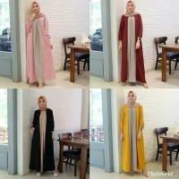 Outfit NEMA | Maxy Basic terlaris RA | Baju wanita Gamis termurah