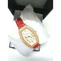 Jam tangan model elegant untuk wanita - cartir - jam tangan fashion - Merah
