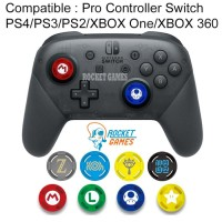 THUMB GRIP PRO CONTROLLER SWITCH PS4 PS3 PS2 XBOX ONE / ANALOG CAPS