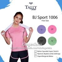 Baju Olahraga Wanita Untuk Lari Senam Aerobic Fitness Gym Tally 1006