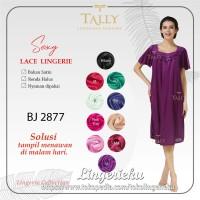 Baju Tidur Wanita Satin Lembut Lingerie Tally 2877