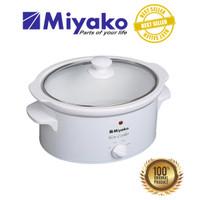 Miyako penanak nasi Slow Cooker - SC510 - 5 Liter - Putih
