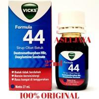 Vicks Formula 44 Syrup Dewasa 27ml - Sirup Obat Batuk