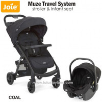 Joie Muze Travel System Stroller dan Car Seat Bayi