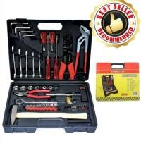 Tool Kit Set 100pcs / Kenmaster Alat Perkakas N2