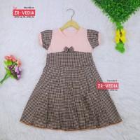 Dress Kelly uk Bayi - 6 Tahun / Dres Pesta Murah Baju Anak Cewek Murah - Bayi 6-18 Bulan